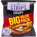 Iceland Crispy Chicken Breast Fillet Strips 1Kg