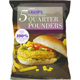 Iceland Crispy Chicken Breast Quarter Pounders 565g