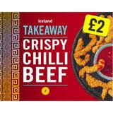 Iceland Crispy Chilli Beef 190g