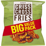 Iceland Criss Cross Fries 1.45kg