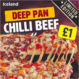 Iceland Deep Pan Chilli Beef 370g