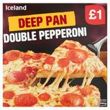 Iceland Deep Pan Double Pepperoni 346g