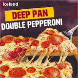 Iceland Deep Pan Double Pepperoni 346g