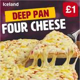 Iceland Deep Pan Four Cheese 365g