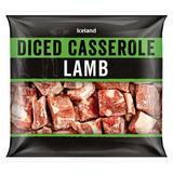 Iceland Diced Casserole Lamb 350g