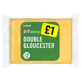 Iceland Double Gloucester Cheese 180g