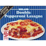 Iceland Double Pepperoni Lasagne 400g