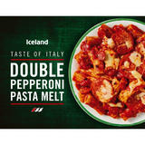 Iceland Double Pepperoni Pasta Melt 400g