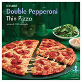 Iceland Double Pepperoni Thin Pizza 320g