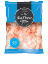 Iceland Easy Peel Raw Wild Red Shrimp 240g