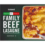 Iceland Family Beef Lasagne 1.6kg