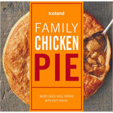 Iceland Family Chicken Pie 700g