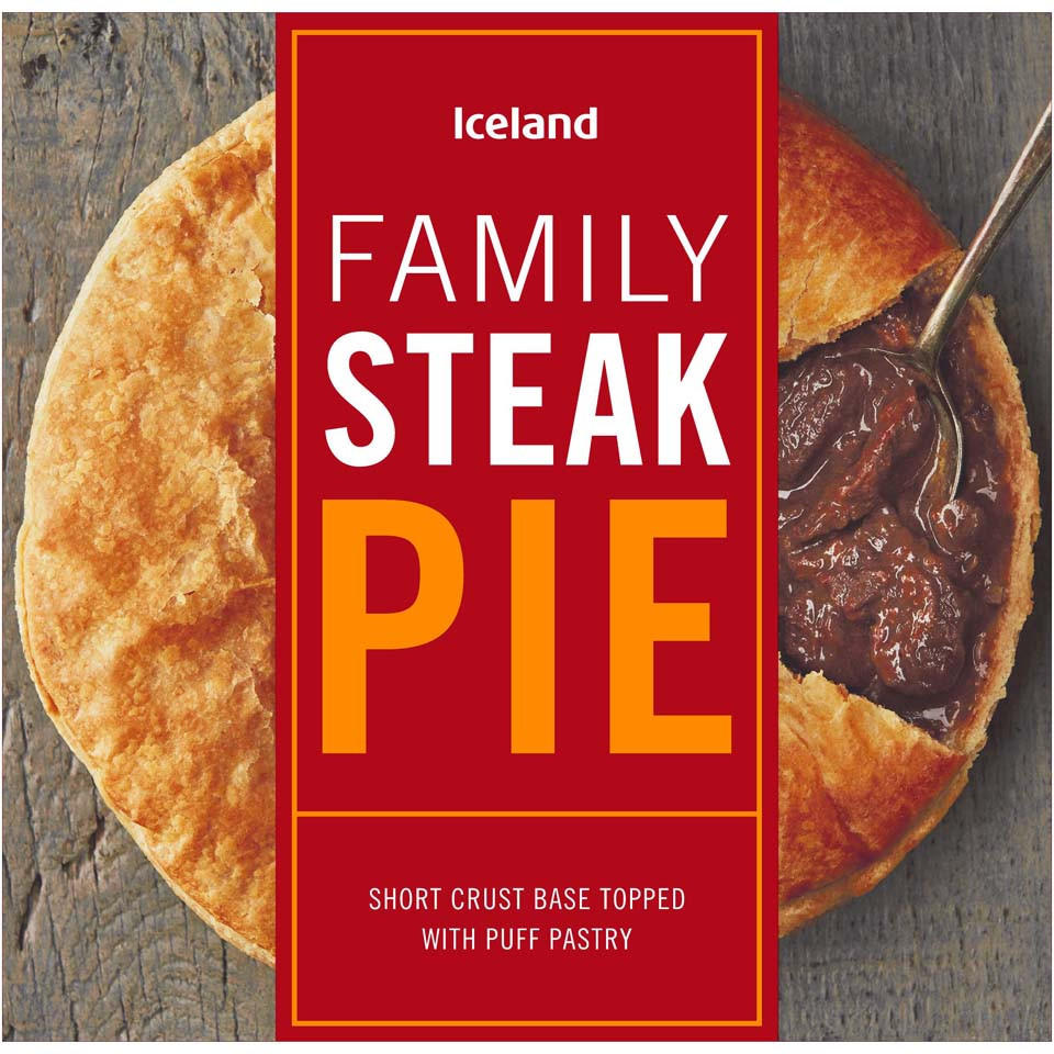Iceland Family Steak Pie 700g | Pies & Puddings | Iceland ...