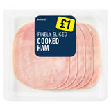 Iceland Finely Sliced Cooked Ham 70g