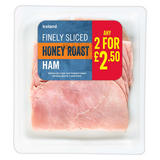 Iceland Finely Sliced Honey Roast Ham 100g