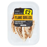 Iceland Flamed Grilled Chicken Breast Mini Fillets 170g