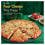 Iceland Four Cheese Thin Pizza 322g