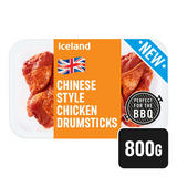 Iceland Fresh British Chinese Style Chicken Drumsticks 800g