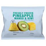 Iceland Freshly Frozen Pineapple, Mango & Kiwi 600g