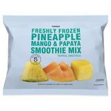 Iceland Freshly Frozen Pineapple, Mango & Papaya Smoothie Mix 600g