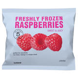 Iceland Freshly Frozen Raspberries 300g