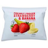 Iceland Freshly Frozen Strawberry & Banana 600g