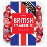 Iceland Frozen British Strawberries 350g