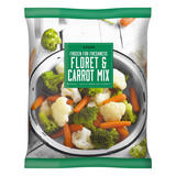 Iceland Frozen For Freshness Floret & Carrot Mix 900g