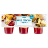 Iceland Fruit Cocktail Trifles 375g
