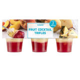 Iceland Fruit Cocktail Trifles 3 X 125g