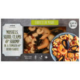 Iceland Frutti Di Mare Mussels, Squid, Clams & Shrimp in a Tomato & Herb Sauce 450g