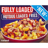 Iceland Fully Loaded Hotdog Loaded Fries 510g