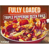 Iceland Fully Loaded Triple Pepperoni Pizza Fries 510g