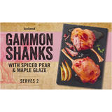 Iceland Gammon Shanks with Spiced Pear & Maple Glaze 700g