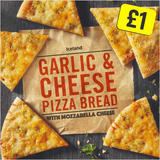 Iceland Garlic & Cheese Pizza Bread 245g