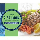 Iceland Garlic & Herb Salmon Portions 250g