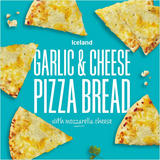 Iceland Garlic and Cheese Pizza Bread 245g