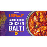 Iceland Garlic Chilli Chicken Balti 375g