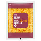 Iceland Grated Mature Coloured Cheddar 250g