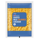 Iceland Grated Mild Coloured Cheddar 250g