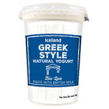 Iceland Greek Style Bio Live Natural Yogurt 450g