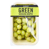 Iceland Green Seedless Grapes 400g