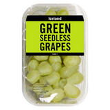 Iceland Green Seedless Grapes 500g