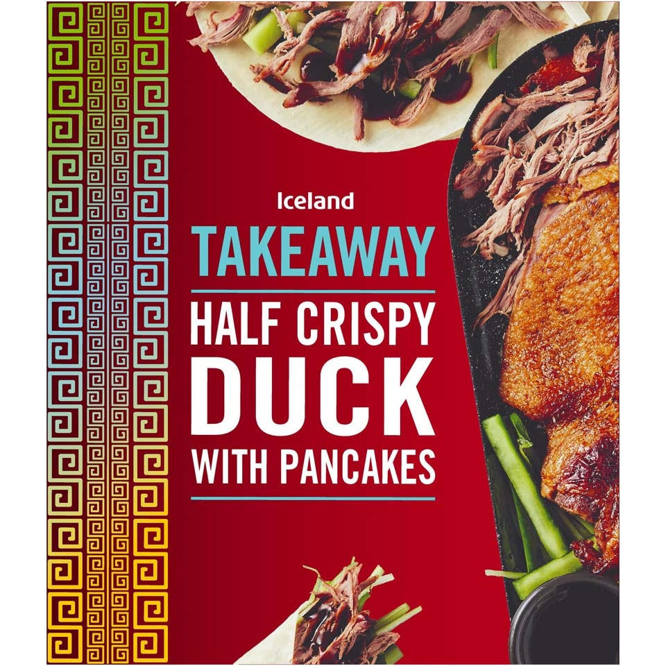 Iceland Half Crispy Duck With Pancakes 450g Chinese Oriental Iceland Foods