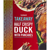Iceland Half Crispy Duck with Pancakes 450g