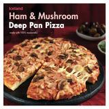 Iceland Ham & Mushroom Deep Pan Pizza 413g