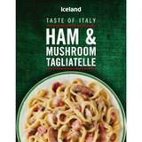 Iceland Ham and Mushroom Tagliatelle 400g