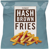 Iceland Hash Brown Fries 550g
