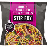 Iceland Hoisin Shredded Duck Noodles Stir Fry 750g