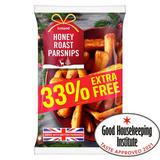 Iceland Honey Roast Parsnips 1kg